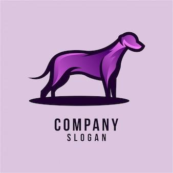 Design de logotipo 3d do cão