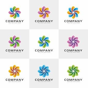 Design de logotipo abstrato