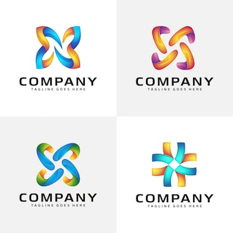 Design de logotipo abstrato