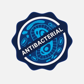 Design de logotipo antibacteriano