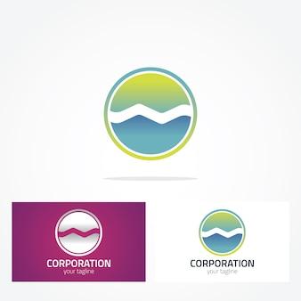 Design de logotipo arredondado