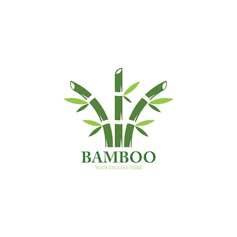 Design de logotipo bamboo
