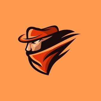 Design de logotipo bandido