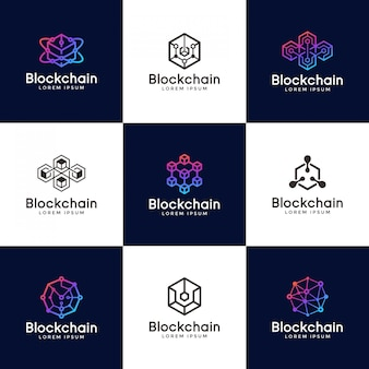 Design de logotipo blockchain