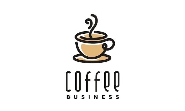 Design de logotipo café / café