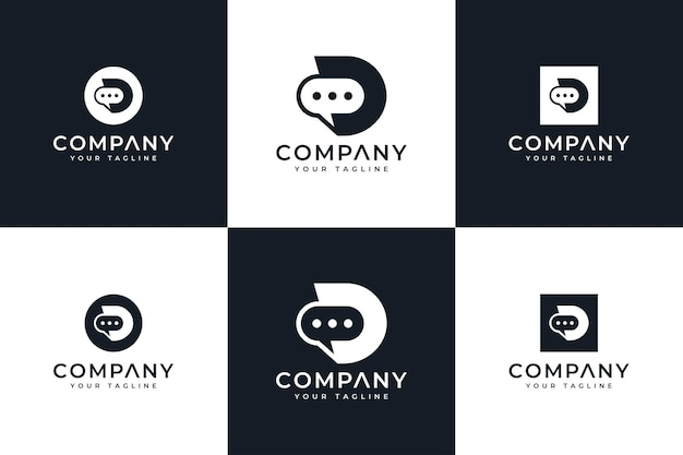 Design de logotipo criativo hexágono letra c e modelo de cartão de visita premium vector