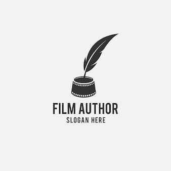 Design de logotipo criativo para filme