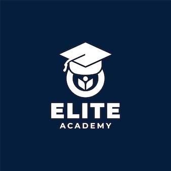 Design de logotipo da academy university school