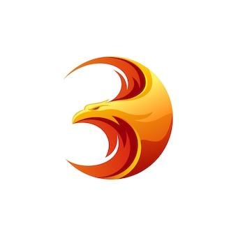 Design de logotipo da águia