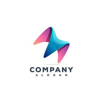 Design de logotipo da letra m