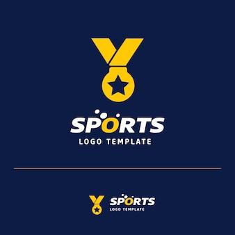 Design de logotipo da medalha