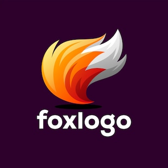 Design de logotipo da raposa