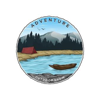 Design de logotipo de aventura