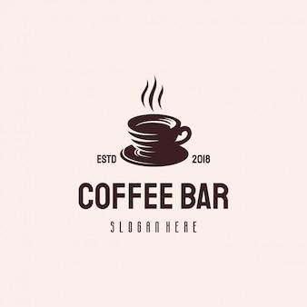 Design de logotipo de bebida de café