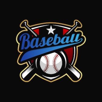 Design de logotipo de beisebol