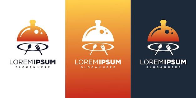Design de logotipo de boa comida