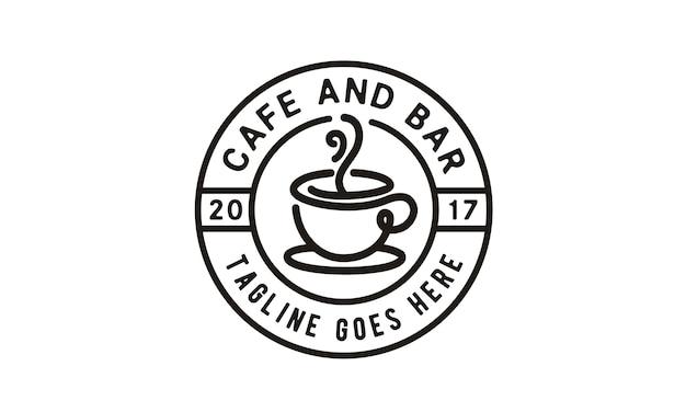 Design de logotipo de café / café selo