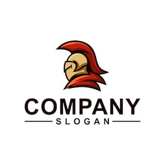 Design de logotipo de cavaleiro