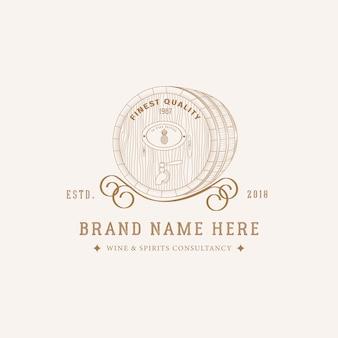 Design de logotipo de cervejaria
