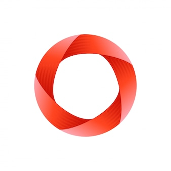 Design de logotipo de círculo impossível
