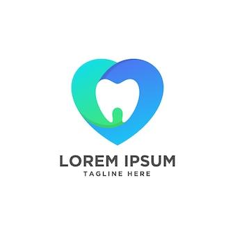 Design de logotipo de clínica odontológica