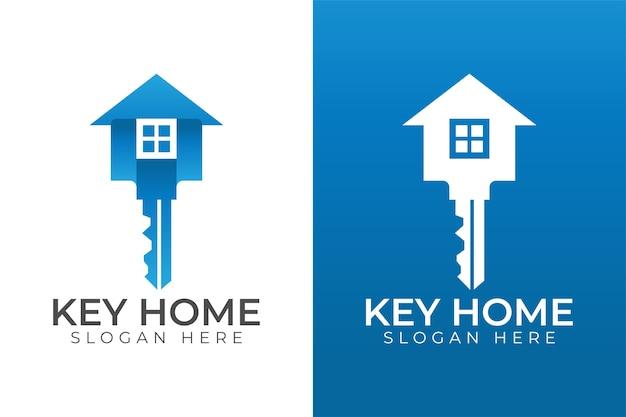 Design de logotipo de construção de casas imobiliárias