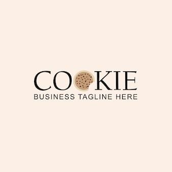 Design de logotipo de cookies
