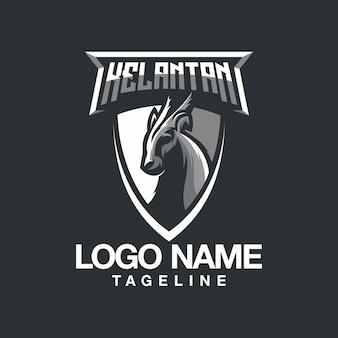 Design de logotipo de cordeiro