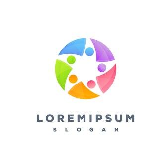 Design de logotipo de cuidados de saúde