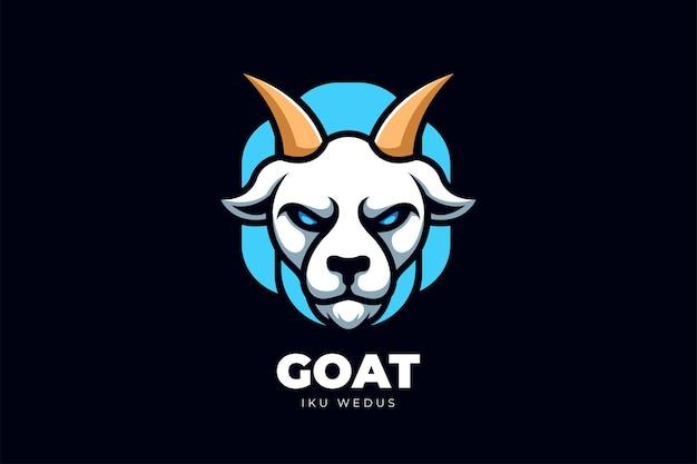 Design de logotipo de desenho animado criativo de logotipo de animal