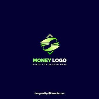 Design de logotipo de dinheiro moderno