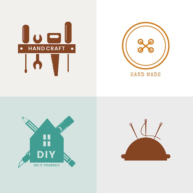 Design de logotipo de empresa de serviço qualificado