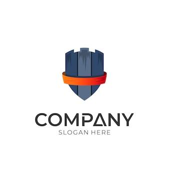 Design de logotipo de escudo