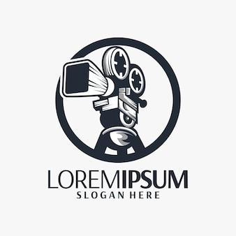 Design de logotipo de filme