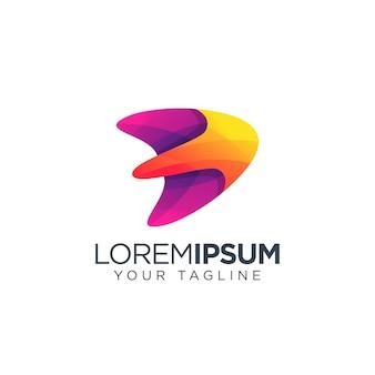 Design de logotipo de foguete