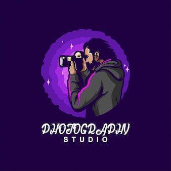 Design de logotipo de fotografia