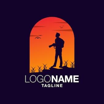 Design de logotipo de fotógrafo