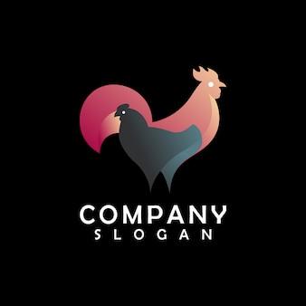 Design de logotipo de frango