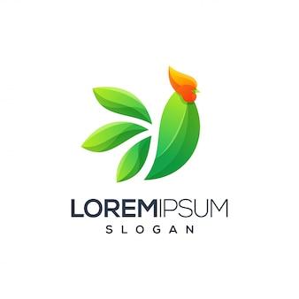 Design de logotipo de galo, vetor, ilustração pronto para usar para sua empresa