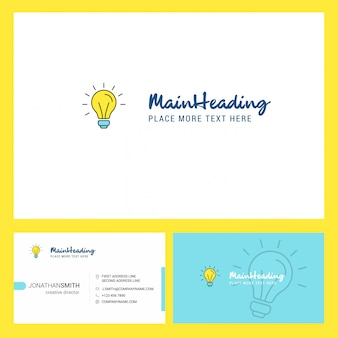 Design de logotipo de ideia