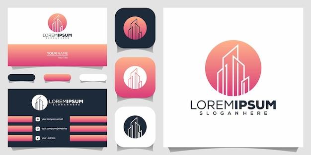 Design de logotipo de imóveis