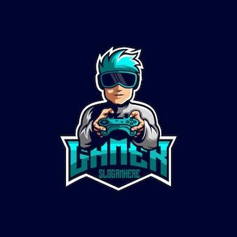 Design de logotipo de jogador