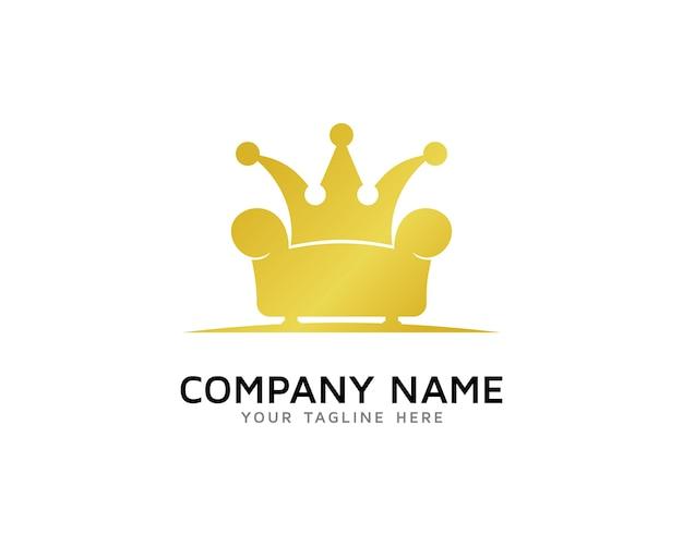 Design de logotipo de king furniture
