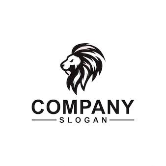 Design de logotipo de leão