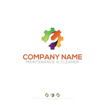 Design de logotipo de manutenção
