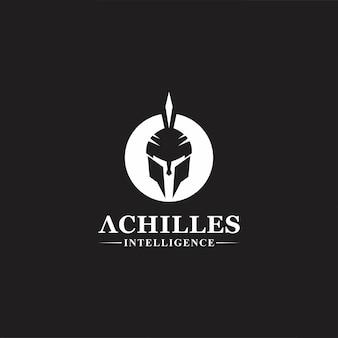 Design de logotipo de máscara geek