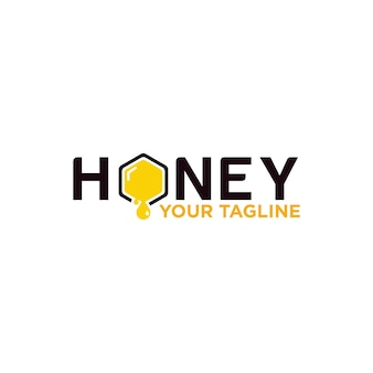 Design de logotipo de mel para empresa