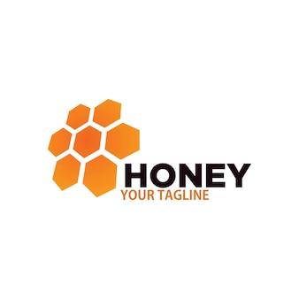 Design de logotipo de mel