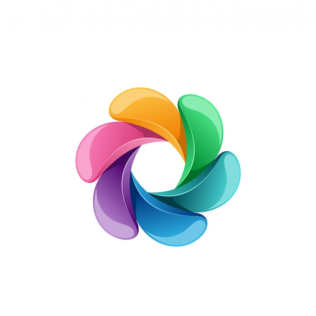 Design de logotipo de mídia