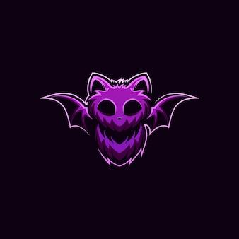 Design de logotipo de morcego